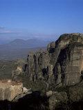 The Monasteries of Rousanou  St Nicholas and Metamorphosis  Meteora  Meteora  Greece