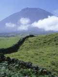 Landscape  Pico  Azores Islands  Portugal  Atlantic