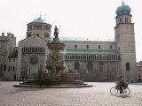 Piazza Duomo  with the Statue of Neptune  Trento  Trentino  Italy