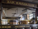 The Bar at the Havana Club Rum Factory  Havana  Cuba  West Indies  Central America