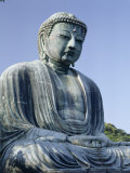 Daibutsu  the Great Buddha Statue  Kamakura  Tokyo  Japan