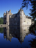 Chateau De Trecesson  Dating from the 15th Century  Near Paimpont  Brittany  France