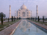 The Taj Mahal  Unesco World Heritage Site  Agra  Uttar Pradesh State  India