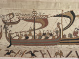 Invasion Fleet  Bayeux Tapestry  France