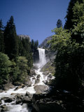 Vernal Falls  318Ft  Yosemite National Park  Unesco World Heritage Site  California  USA