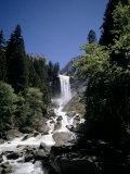 Vernal Falls  318Ft  Yosemite National Park  Unesco World Heritage Site  California  USA