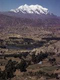 Illimani  21184 Ft  Near La Paz  Bolivia  South America