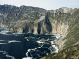 Slieve League Sea Cliffs  Rising to 300M  County Donegal  Ulster  Eire (Republic of Ireland)