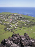 Edinburgh  Taken from 1961 Volcanic Eruption Centre  Tristan Da Cunha  Atlantic Ocean  Mid Atlantic