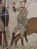 Death of King Harold  Bayeux Tapestry  69  Normandy  France