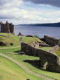 Urquhart Castle  Loch Ness  Scotland  United Kingdom