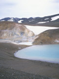 Krafla Geothermal Area  North East  Iceland  Polar Regions