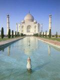The Taj Mahal  Unesco World Heritage Site  Agra  Uttar Pradesh State  India