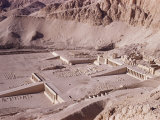 Ramps and Terraces of the Temple of Queen Hatshepsut  Deir El Bahri  Egypt