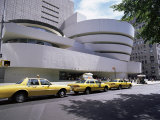 Guggenheim Museum on 5th Avenue  New York City  New York State  USA