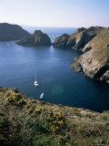 Havre Gosselin  Looking North to Gouliot Headland  West Coast  Sark  Channel Islands