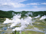 Wairakei Geothermal Power Station  Near Lake Taupo  North Island  New Zealand
