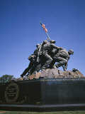Iwo Jima War Memorial to the US Marine Corps  Second World War  Arlington  USA