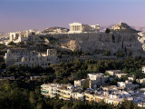 The Acropolis  Parthenon and City Skyline  Athens  Greece