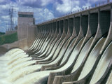 Rio Hondo Dam on Rio Dulce  Argentina  South America