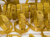 The Gold Market  Deira  Dubai  United Arab Emirates  Middle East