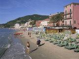 Beachfront  Alassio  Italian Riviera  Liguria  Italy