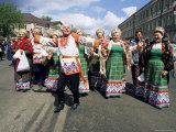 Dancers  Summer Festival  Sergiev Posad  Russia