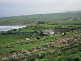 View Towards Doolin Over Countryside  County Clare  Munster  Eire (Republic of Ireland)