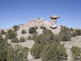 Camel Rock  Near Santa Fe  New Mexico  USA