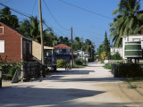 Front Street  Caye Caulker  Belize  Central America