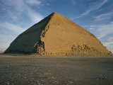 The Bent Pyramid (Pyramid of Dahshur)  321Ft High  Base 620Ft  Egypt  North Africa  Africa