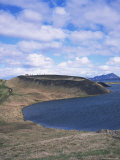 Volcanic Pseudocraters Near Village of Skutustadir  Lake Myvatn  North East Area  Iceland