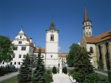 St James Church and Town Hall  Levoca  Slovakia