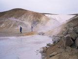 Volcanic Region  Krafla  North East Area  Iceland  Polar Regions