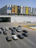 Downtown  Main Thoroughfare and Shopping Mall  Brasilia  Brazil  South America