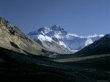 North Face  Mount Everest  8848M  Himalayas  Tibet  China