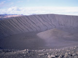 Geologically Recent Volcanic Explosive Crater  Hverfjall  Northeast Area  Iceland  Polar Regions