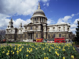 St Paul's Cathedral  London  England  United Kingdom