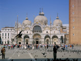 Basilica of San Marco (St Mark&#39;s)  St Mark&#39;s Square  Venice  Veneto  Italy