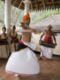Kandyan Dance  the Dancers are Accompanied by Drummers on the Geta Bera  Hill Country