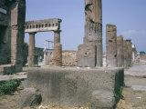 Forum  Pompeii  Campania  Italy