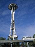The Space Needle  Seattle  Washington State  USA