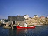 Peggy's Cove  Halifax  Nova Scotia  Canada
