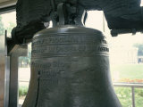 Close-Up of the Liberty Bell  Philadelphia  Pennsylvania  USA