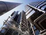 Lloyds Building  Architect Richard Rogers  City of London  London  England  United Kingdom