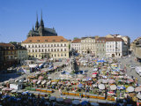 Morning Market  Brno  Czech Republic