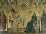 The Annunciation  Simone Martini  Uffizi  Florence  Tuscany  Italy