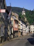 Main Street  Vianden  Luxembourg