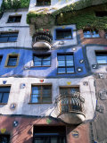 The Hundertwasser House  Vienna  Austria