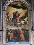 The Assumption by Titian  S Maria Dei Frari  Venice  Veneto  Italy